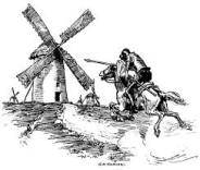 Don Quixote windmill