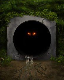 storm drain monster