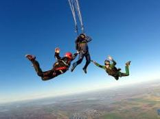 AFF skydiving 2