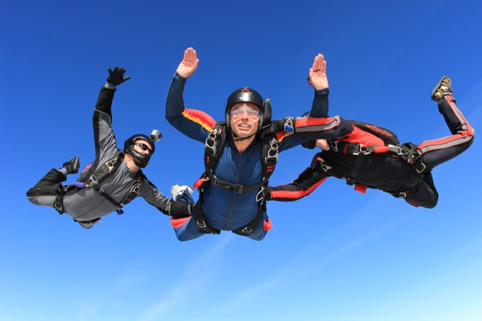 AFF skydiving