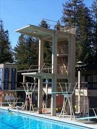 DeAnza Diving Tower