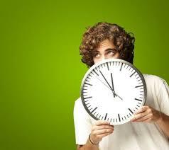 scared clock
