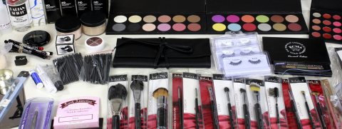 makeup supplies