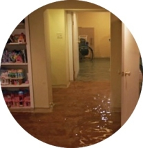 flooded rooms