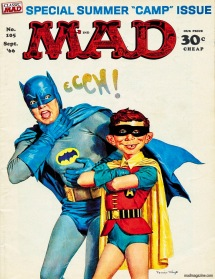 MAD batman