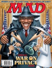 MAD spy v spy Obama