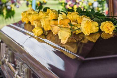 casket n flowers