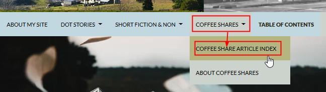 coffee share Navigation
