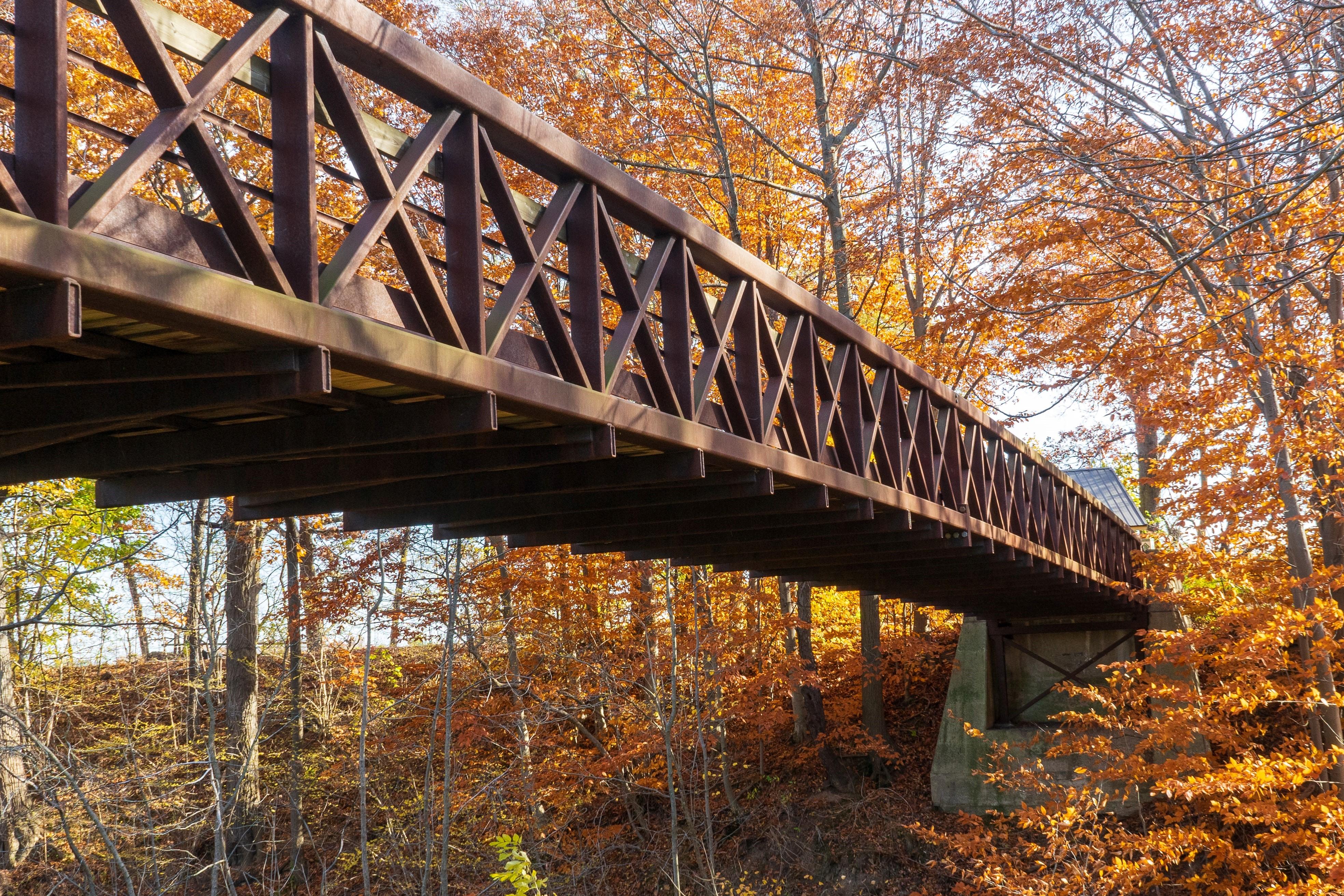 foot bridge by michael-krahn